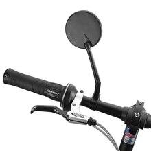 цена на 360 Degree Rotation Bicycle Rearview Mirrors MTB Bike Handlebar Universal Adjustable Cycling Convex Rear View Mirror Accessories