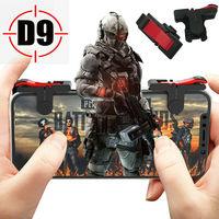 Gatillo de juego para teléfono móvil, botón de PUBG para tirador L1R1, controlador de juego, teclas de agarre, suministros de juego para IPhone y Android