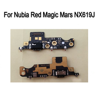 For Nubia Red Magic 2 Mars NX619J Used tested Good Charge Port Connector RedMagic2 Mars USB Charging Dock Board Flex Cable
