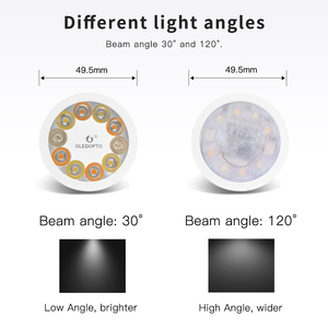 Image 3 - Soposhデュアル白と色ledスポットライトGU10 rgbw/cw 5 ワットzgbee zll AC100 240V amazonエコーで動作プラスled電球cct gu10
