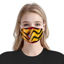 Аннотация испанский пользовательские флаг шаблон 4шт фильтр маски вставить анти-пыли углерода маски многоразовые анти-инфекции Маска Испания