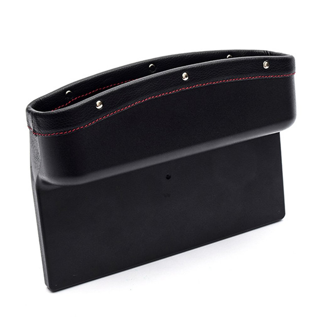 Car Styling Car Seat Crevice Storage Box PU Leather Car Organizer Cup Holder Auto Gap Side Pocket for Stowing Tidying|Stowing Tidying| |  - title=