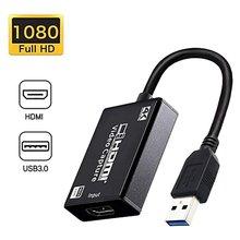 4k 1080p 30fps hdmi видео аудио карта захвата к usb 30 рекордер