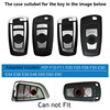 High quality ABS Car Key Case Auto Key Protection Cover For BMW F07 F10 F11 F20 F25 F26 F30 Accessories Holder With Keyring discount