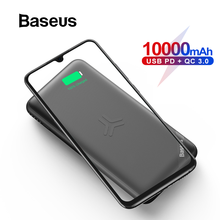 Baseus 10000mAh Power Bank Qi Wireless Charge for iPhone 11