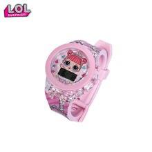 Куклы lol surprise силиконовые наручные часы для красивых девушек
