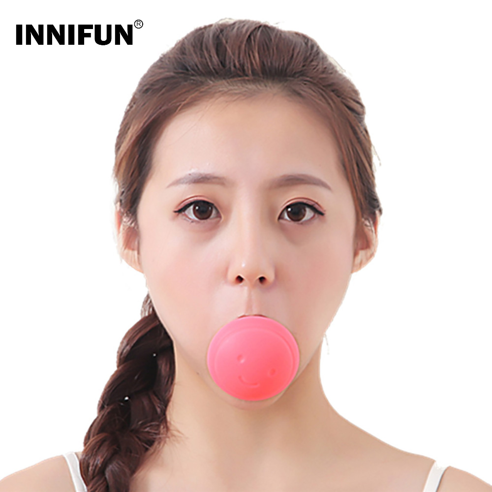 Beauty Face Lift Tool Face Slimming Device V Shape Exerciser Mouth Breathing Ball Instrument Firming Anti Wrinkle Exercise Tool
