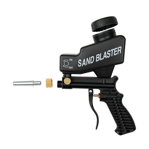 Image 5 - MIini Airbrush נגד חלודה אוויר מברשת הגנת אוויר ספוט חול Blaster הכבידה סוג אקדח ספריי צבע אקדח Sandblaster ריסוס כלים