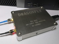RX-666 LTC2208 ADC SDR récepteur radio 1KHz-1800MHz 16bit échantillonnage large bande station radio 32mhz HF UHF VHF