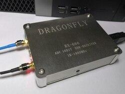RX-666 LTC2208 ADC SDR receptor de radio 1KHz-1800MHz 16bit de radio de banda ancha estación 32mhz HF UHF, VHF