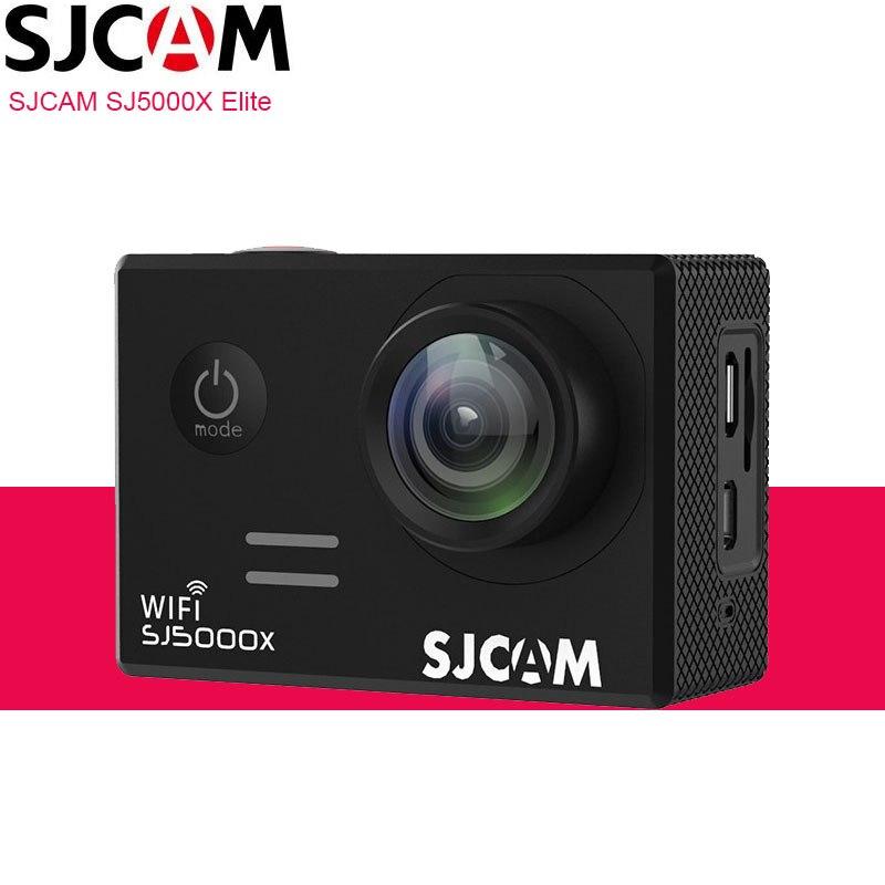 Original SJCAM SJ5000X Elite 4K caméra d'action WiFi plongée 30M étanche 1080P HD NTK96660 Gyro 2.0 écran SJ CAM 5000 Sports DV