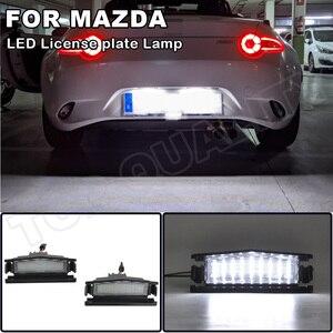Image 1 - Voor Mazda Mx 5 Nd (Miata) 2016  Mazda 2 2016  High Power Led Auto Achter Kentekenverlichting Nummerplaat Lamp