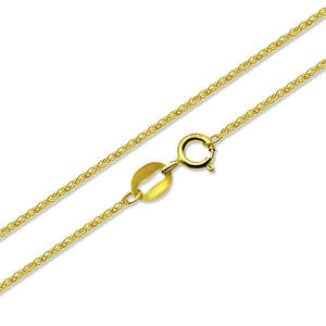 NYMPH Fine-Jewelry Au750 Necklace Gold-Chain 18K Real Genuine-Guarantee Gift Wedding