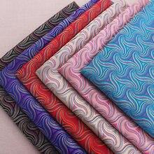 6個のbrocadeパターン生地ダマスクトジャカードデザイナードレスシーム生地チャイナと着物diyミシンパッチワーク衣装マテリア