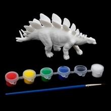DIY Coloring Painting Animal Dinosaur Model Drawing Graffiti Kids Children Toys