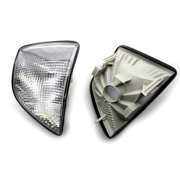 For 1992-1998 BMW E36 3-Series 4DR Coupe Corner Light Lamps Turn Signal Light Clear Car Accessories image