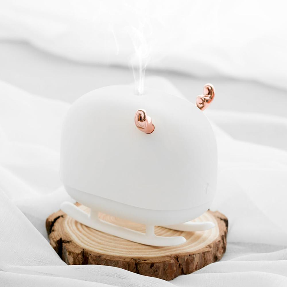 Xiaomi Portable Nano Mist Humidifier With LED Ambient Light Mini Ultrasonic Diffuser USB Low Noise Automatic Power-off