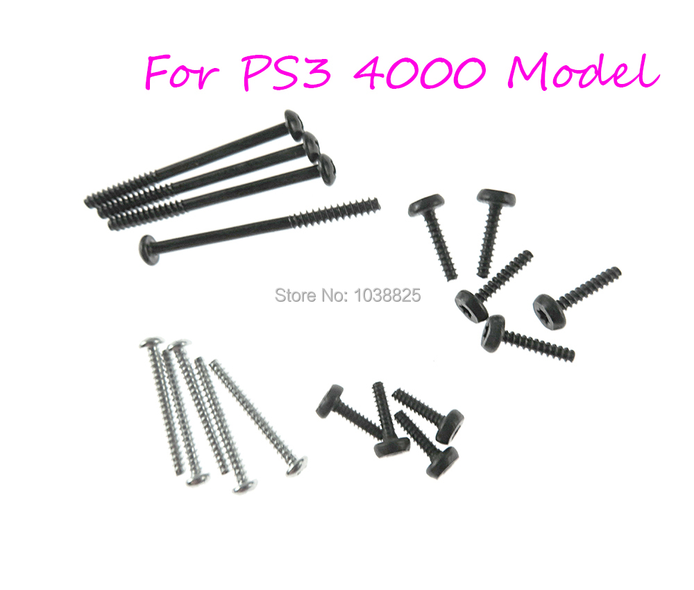 Screws Repair Part For Playstation 3 PS3 Super Slim CECH-4000 Housing Shell Screws For Ps3 4000 4k