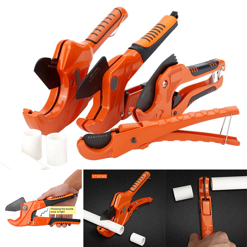 Newly Pipe Cutting Cutter Scissors Tube Hose Plastic Pipes PVC/PPR Plumbing Manual Hand Tools XSD88