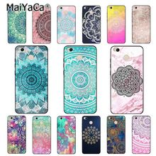 MaiYaCa Flower Floral Mandala Phone Case for Xiaomi mi5 6 A1