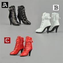 1/6 г zy1009 женские ботильоны на полой подошве обувь среднем