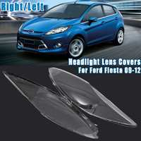 Right/Left Car Headlight Headlamp Clear Lens Auto Shell Cover For Ford for Fiesta 2009 2010 2011 2012 254 181 50L 254 182 49R