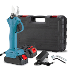 Electric Pruning Shear Makita-Battery Cordless Branches-Cutter 21V 30mm with 4-Speed
