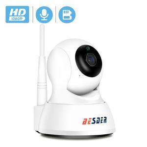 Image 1 - Умная ip камера BESDER Home для безопасности, Wi Fi, 1080P, P2P, двусторонняя аудиосвязь, Радионяня, датчик движения, наклонная мини камера видеонаблюдения, IP