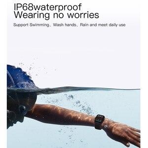 Image 4 - SENBONO 2020 SN87 Smartwatch IP68 su geçirmez akıllı saat erkekler kadınlar spor kalp hızı kan oksijen monitörü saat PK P8 B57