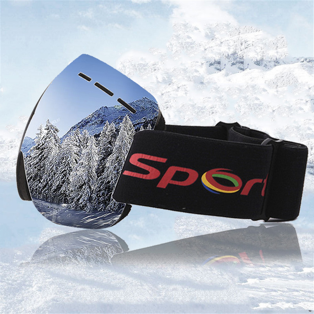 Ski Goggles UV400 Anti-fog Coatings Skateboard Glasses Snowboard Mask Winter Skiing Eyewear Womens Sunglasses For Outdoor Sports