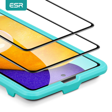 ESR Tempered Glass for Samsung Galaxy A52 Full Cover Screen Protector for Samsung Galaxy A52 Screen Protective Film Glass 2PCS