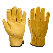 Кожаные садоводческие ножевые упорные износостойкие посадочные цветы износостойкие ладони мягкая подкладка рабочие перчатки