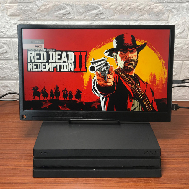 17.3 Inch High Resolution 4K Monitor With HDR For Computer Phone NUC Expand Screen Game Console Display For PS4 XBOX NS Switch 5