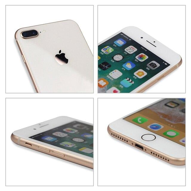 "100% Original Apple iPhone 8 Plus 3GB+ 64GB/256GB Hexa Core Smartphone 5.5"" 12MP iOS A11 4G LTE Unlocked Used Mobile Phone 5"