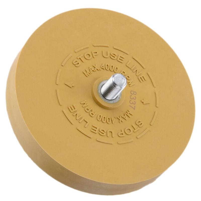 Car Heavy Duty Pinstripe Decal Rubber Eraser Wheel Pad Sticker Removal Tool