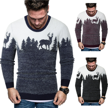 2020 new sweater men brand christmas pullover sweater winter privathinker wool men korean long sleeve