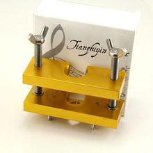 1 pc trompete bocal extrator removedor extrator da liga de alumínio ferramenta de reparo do instrumento vento (dourado)