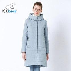 ICEbear 2019 nuove signore di Autunno del cappotto delle donne con cappuccio in cotone caldo del rivestimento delle donne di marca di alta qualità femminile con cappuccio GWC19038I