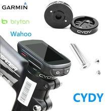 Cydy wahoo bryton garmin borda de montagem 130 200 520 rider 330 420 530 mtb estrada ciclismo bicicleta titular do computador liga alumínio
