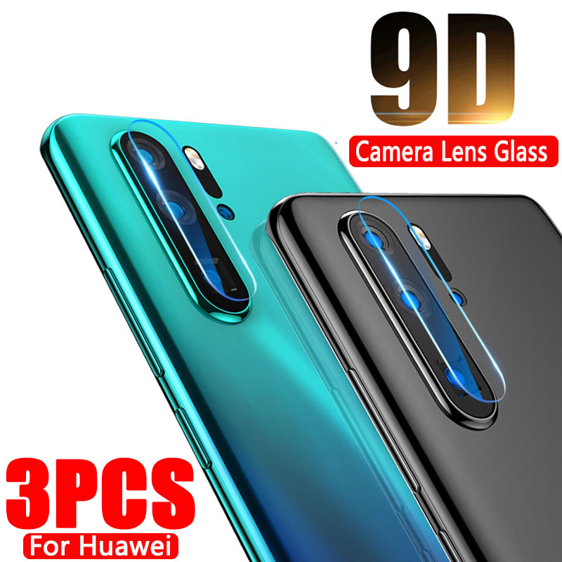 3-1PCS Camera Lens Tempered Glass For Huawei P30 P20 Lite Pro Mate 20 30 Lite Pro Protective Screen Protector For Huawei P30 20