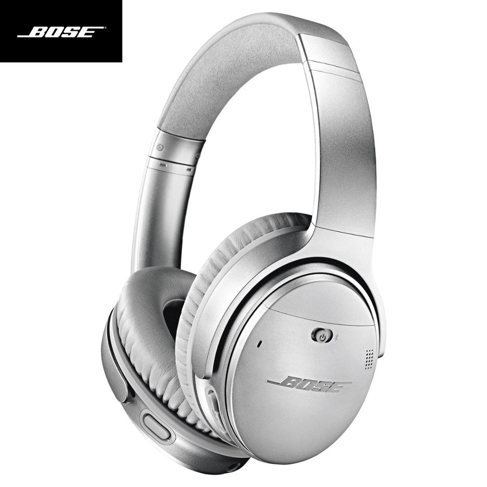 Bose QuietComfort 35 II Active Noise Cancelling Headphone Bluetooth Wireless Headphone Earphone HIFI for IOS Android Smartphone image
