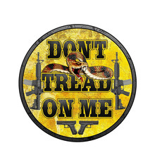 15cmx15cm Creative don't step on me Car-Sticker Automobiles Motorcycles Window Bumper Laptop Vinyl Decal PVC Decorative Goods