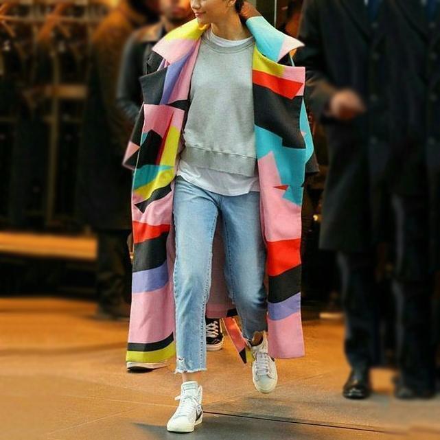 Long Wool Blend Winter Coats  3