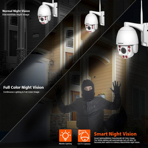 Image 4 - 5X Optical Zoom Wireless PTZ IP Camera Wifi 1080P 5MP Two Way Audio Outdoor Video Surveillance Home Security Camera P2P CamHi