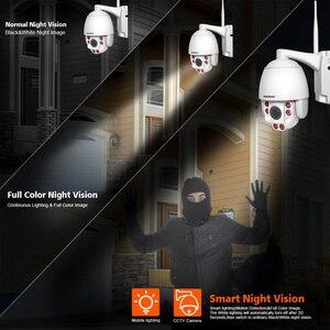 Image 4 - 5X Optische Zoom Draadloze Ptz Ip Camera Wifi 1080P 5MP Twee Weg Audio Outdoor Video Surveillance Home Security Camera p2P Camhi