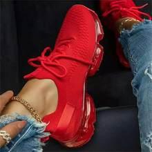 Sneakers traspiranti da donna 2021 primavera nuovo colore abbinato Mesh stringate scarpe Casual da donna scarpe vulcanizzate sportive piatte all'aperto