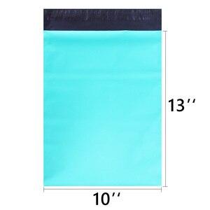 Image 2 - Speedy Mailers 10x13 pulgadas 100 Uds verde Poly Mailer colorido Poly Mailer bolsas auto sellado plástico embalaje sobres bolsas