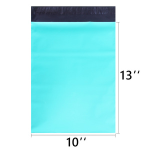 Image 2 - Speedy Mailers 10x13inch 100pcs Teal Green Poly Mailer Colorful Poly Mailer Bags Self Sealing Plastic Packing Envelope Bags