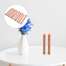 1 zestaw przydatna świeca drewniana knot DIY dokonywanie dostaw bezpieczne akcesoria do odlewania świec tanie tanio CN (pochodzenie) Wood Candle Wick Candle Wick Parts Candle Wick Fittings Candle Wick Accessory Candle Wick Tool