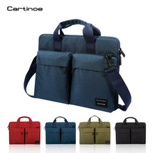 14 shoulder 13 inclined bag 15,6 inch laptop bag 15 backpack for men and women Handbag Anti-bank Card Credit Card Theft(China)